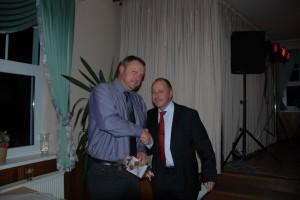 Unser zweiter Vorsitzender Alexander Klünsch nach der Preisverleihung mit Thomas Brandtner